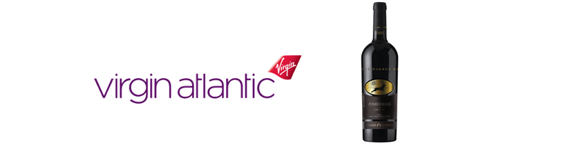 Crama Ceptura – la bordul Virgin Atlantic